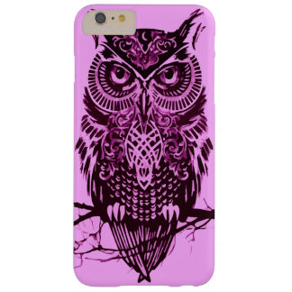 Pink Owl Barely There iPhone 6 Plus Case
