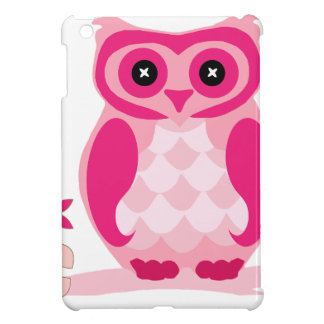 Pink Owl iPad Mini Cover