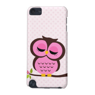 Pink Owl iPod Touch (5th Generation) Cases