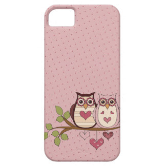 Pink Owl Sweethoots iPhone 5 Case