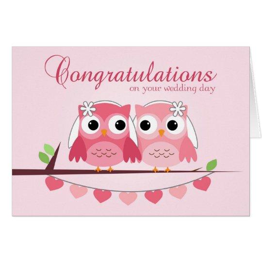 Cute wedding congratulations