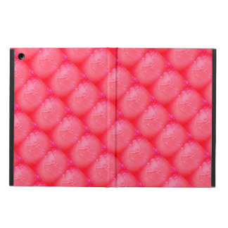 Pink paint tiles iPad Air Case with No Kickstand