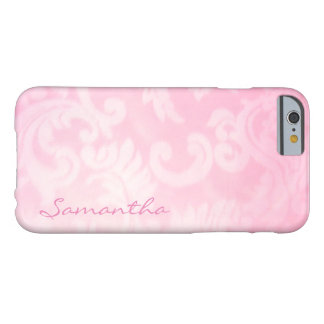 Pink Paisley Barely There Case, Customizable Barely There iPhone 6 Case