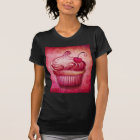Pink Paisley Cupcake T-shirt