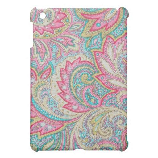 Pink Paisley iPad Mini Covers