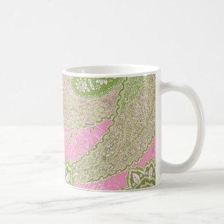 Pink Paisley Mug