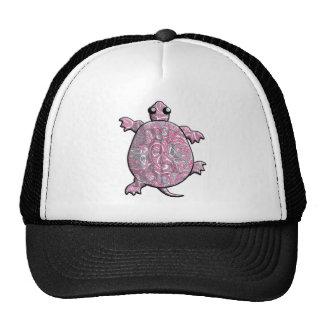 Pink Paisley Turtles Trucker Hat