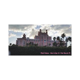 Pink Palace, St. Petersburg, Florida Canvas Print