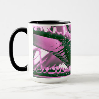 Pink Palm Tigress Mug