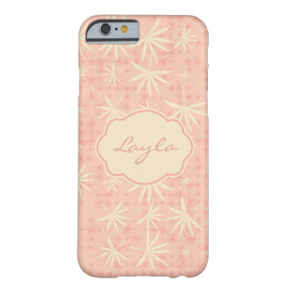 Pink Palms Barely There iPhone 6 Case