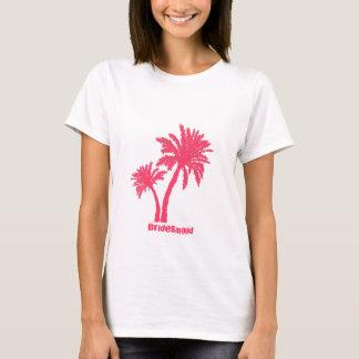 Pink Palms Bridesmaid Tank