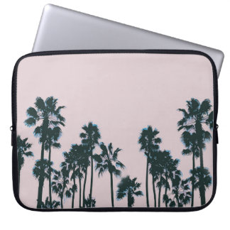 Pink Palms Laptop Sleeve