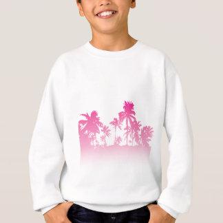 Pink Palms Sweatshirt