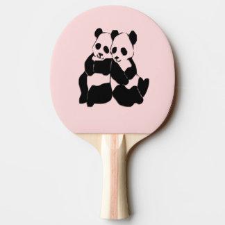 Pink Panda Bears Ping Pong Paddle