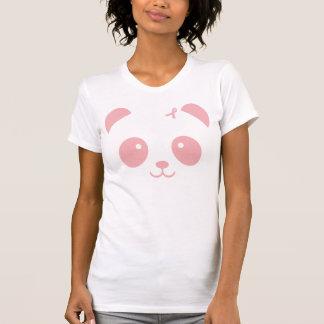 Pink Panda & Ribbon Breast Cancer Awareness Shirt