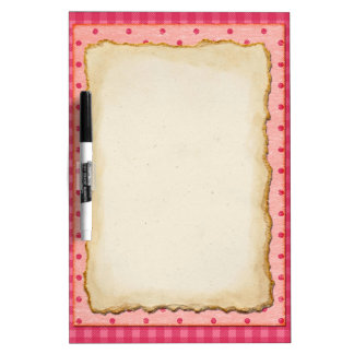 Pink paper colorful dry erase bulletin board dry erase whiteboards
