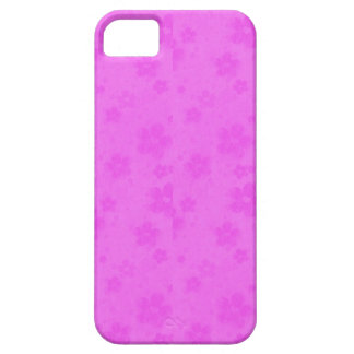 Pink paper flowers case for the iPhone 5