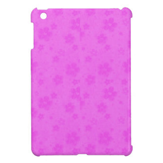 Pink paper flowers cover for the iPad mini