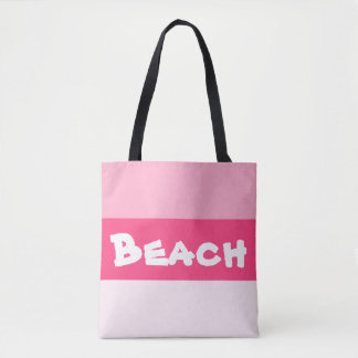 Pink Paradise Beach Bag