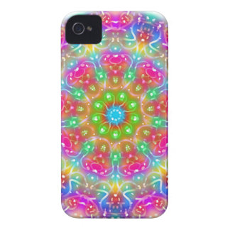 Pink Paradise Mandala Design Case-Mate iPhone 4 Cases
