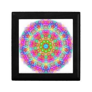 Pink Paradise Mandala Design Trinket Box