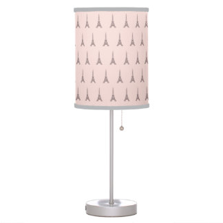 Pink Paris Eiffel Tower Lamp Bedroom Decor Gift