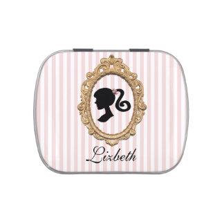 Pink Paris Silhouette