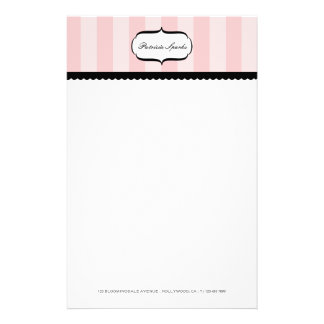 Pink Parlour Personal Stationery