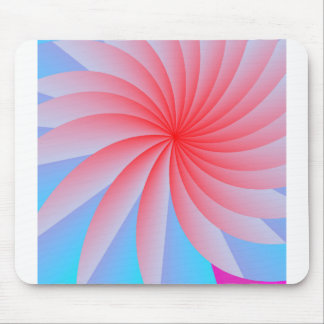 Pink Passion Flower Mousepad