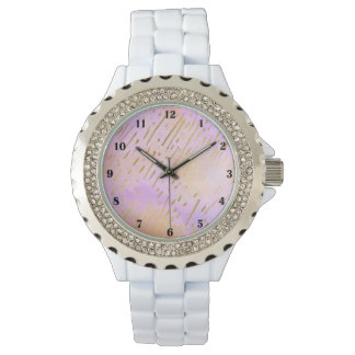 Pink Passion Golden Stripes Watch