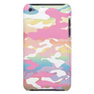 Pink Pastel Camo Pattern iPod Touch Cover