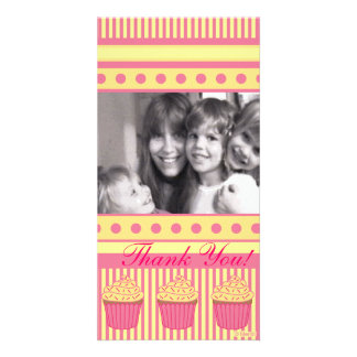Pink pastel Cupcakes Card