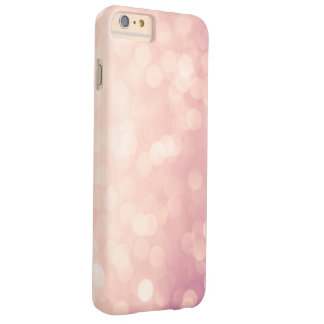 Pink Pastel Lights Girly Barely There iPhone 6 Plus Case