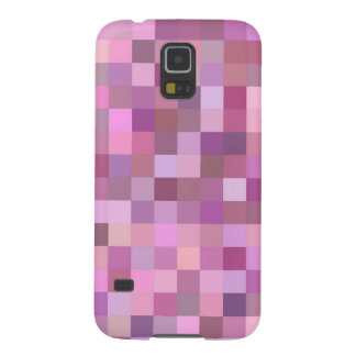 Pink pastel mosaic galaxy s5 covers