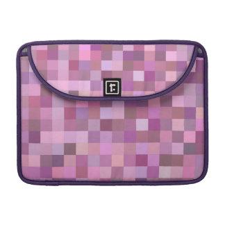 Pink pastel mosaic sleeves for MacBook pro