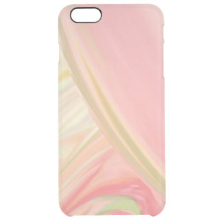 Pink Pastels Clear iPhone 6 Plus Case