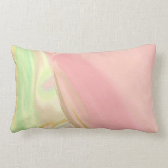 Pink Pastels Lumbar Pillow