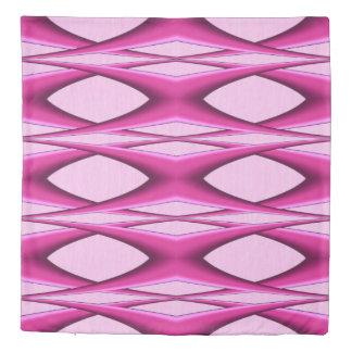 Pink Pattern Duvet Cover