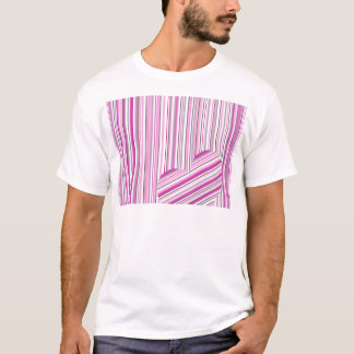 Pink pattern love T-Shirt