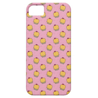 Pink pattern with cute cupcakes and hearts case for the iPhone 5
