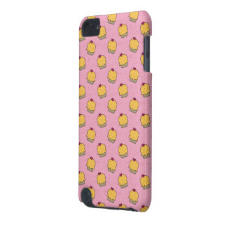 Pink pattern with cute cupcakes and hearts iPod touch 5G cover