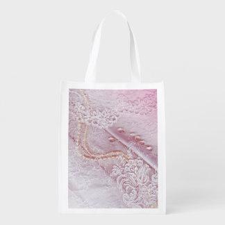 Pink Patterns Market Tote