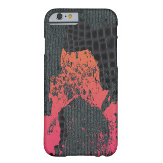 Pink/peach Destructive Abstract Sweater Barely There iPhone 6 Case