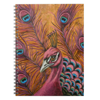 Pink Peacock Note Books