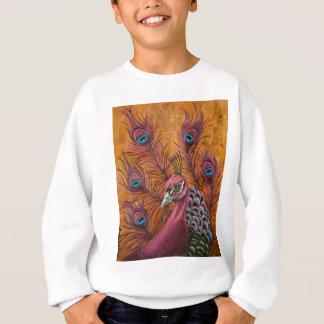 Pink Peacock Sweatshirt