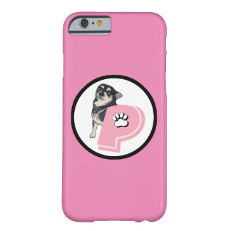 Pink Peanut Chihuahua iPhone Case