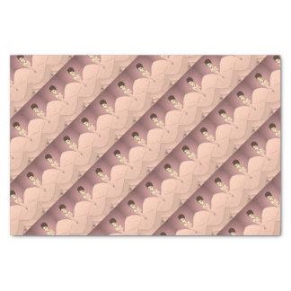 Pink Pearl Princess Tissue Paper