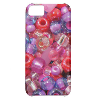 Pink pearls cover for iPhone 5C