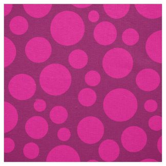 Pink peas fabric