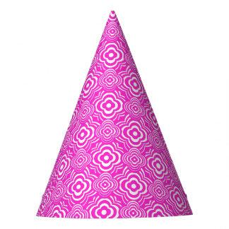 Pink Peddler Party Hat